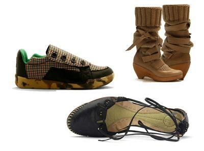 — Экологически чистая обувь
