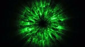 Image result for green fire black background