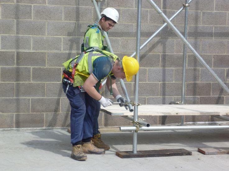 Scaffolding Part 1 at WATA