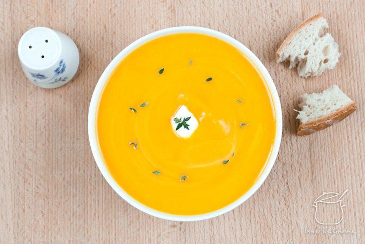 Zupa dyniowa z nutką orientu