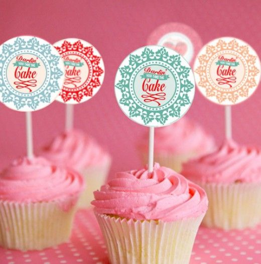 Darling you take the cake! Cupcake Toppers | The Perfect Day 2 | The Perfect Day