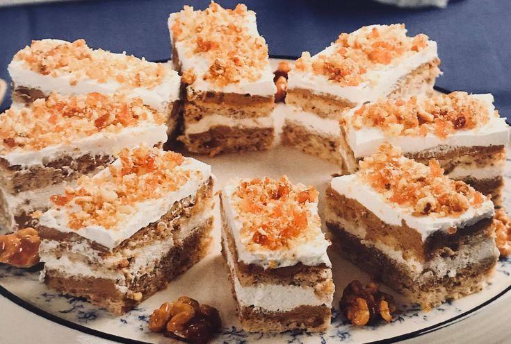 Iata reteta pentru o prajitura festiva, pentru ca tot se apropie sarbatorile.  Ingrediente Blatul -5 albusuri -2 galbenusuri -6 linguri zahar -3 linguri nuca macinata -1 varf cutit sare