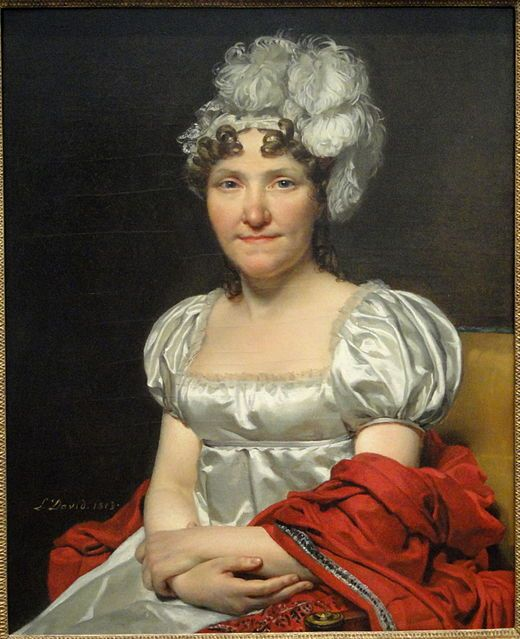 Charlotte David portraits par Jacques-Louis David 1813 l'épouse du peintre Marguerite-Charlotte David née Pecoul (1765-1826). Il est acquis en 1954 par la National Gallery of Art de Washington.