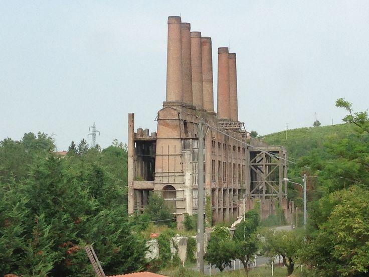 Arte del cemento di Ozzano Monferrato. Archeologia industriale