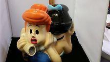 Flintstones 1999 Warner Bros. Studio Store Wilma and Betty Cookie Jar