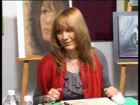 Tiza Pastel!!  Ana Aguilera nos enseña un hermoso  Rostro de Niña!! - YouTube