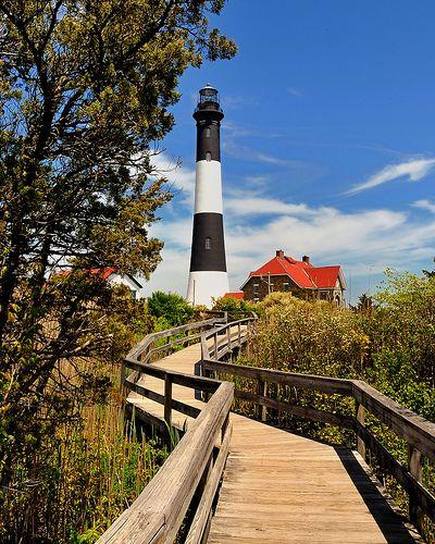 Fire Island Ny: Fire Island Lighthouse - Long Island, NY