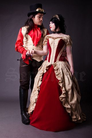 Red Royal Tudor Gown. http://www.galleryserpentine.com/collections/alternative-bridal-formal