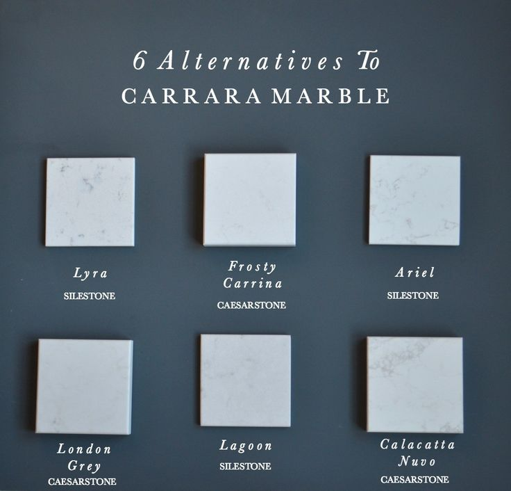 6 Alternatives to Carrara Marble Kitchen Worktops