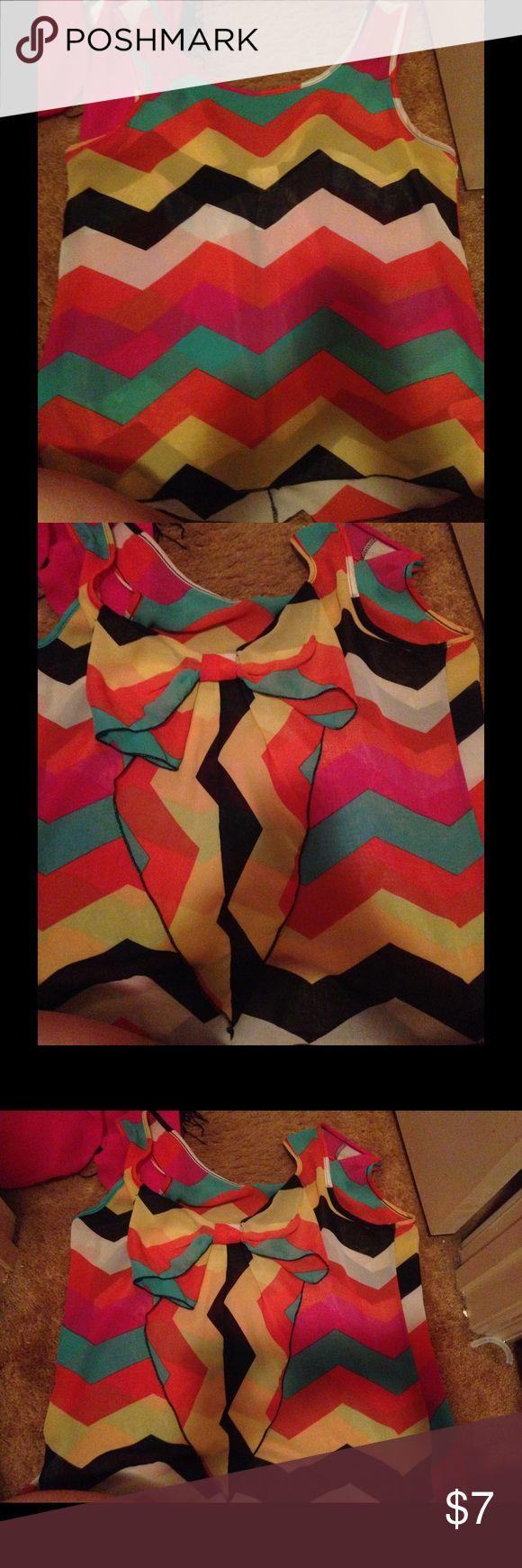 Boutique bow back top So cute! Great condition 11 By Boris Bidjan Saberi Tops Blouses