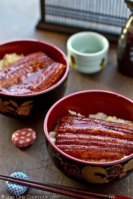 Japanese food - Unagi Don - :eel on a bed of rice