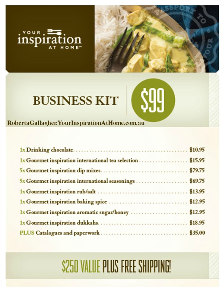The YIAH business kit is a great way to start an Your Inspiration at Home business for only $99 #YIAH #directsales #opportunity