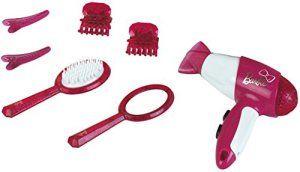 Klein – 5790 – Coiffure – Set de coiffure Barbie avec sèche-cheveux