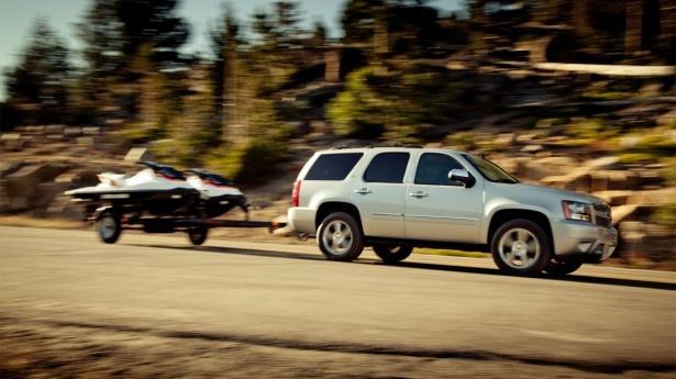 2012 Chevrolet Tahoe : 2012 Chevrolet Tahoe Side In Motion