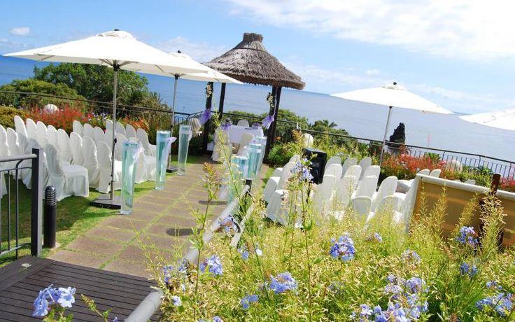 5 star wedding venue in Madeira. http://www.yourmadeirawedding.com/directory/vila-porto-mare-resort