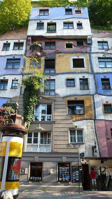 #Wien #Hundertwasser #Vienna #Austria