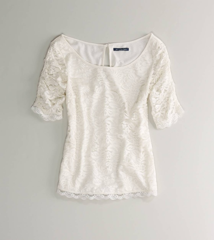 $34.95 AE Ruched Lace T there is a orange kind of color, that I want to wear with white skinny jeans with nude flats for the first day of schoolClothing Shops, Lace Tops, Ae Ruched, American Eagles Outfitters, American Eagle Outfitters, Ruched Lace, Lace Ruched, Ae Lace, Outfitters Ae