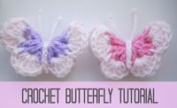 Learn how to make a really cute butterfly embellishment which is not flat. You can use it for really anything, to embellish a granny square or a hat, as a broche or as a hair clip as it is 3D. It's really pretty and easy to make, suitable for any beginner. Add a bunch of …