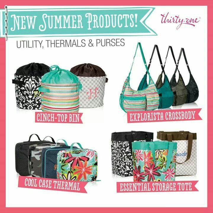Summer 2014 - Thirty One Gifts www.mythirtyone.com/Jbarker