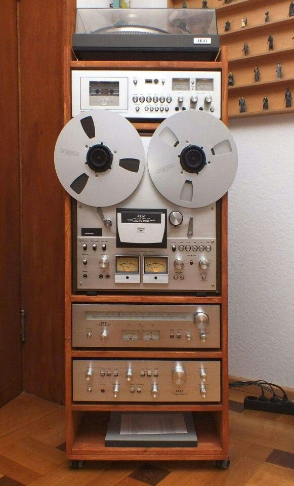 Vintage Audio Stereo Hi Fi Akai. Would have given anything for this.
