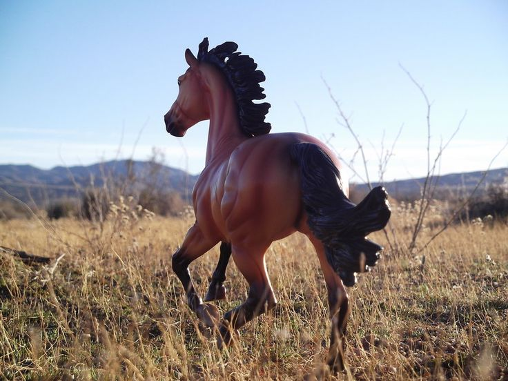 breyer horse realistic scenes | stallion running by misteybabe photography still life dolls and ...