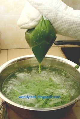 Homemade Cendol