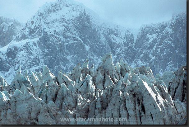 D'Agostini Glacier, Parque Nacional Alberto de Agostini.Chile. Ubicado en la XII Región de Magallanes y Antártica Chilena.  https://www.google.es/blank.html