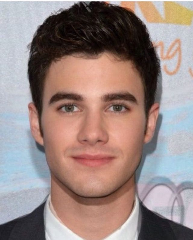 Chris Colfer and Darren Criss mixed into one