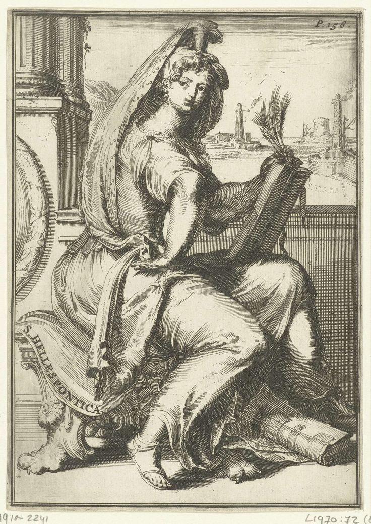 anoniem   Sibille van de Hellespont, attributed to Romeyn de Hooghe, 1688   Sibille van de Hellespont