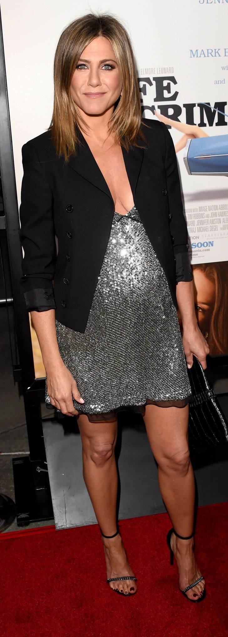 Jennifer Aniston at the Hollywood premiere of Life of Crime.