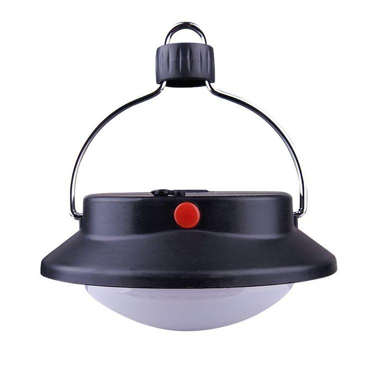 60 LED Ultra Lumineux En Plein Air Lampe de Camping Tente Lumière Avec Abat-Jour Cercle Durable ABS Rechargeable De Pêche Suspendus Éclairage