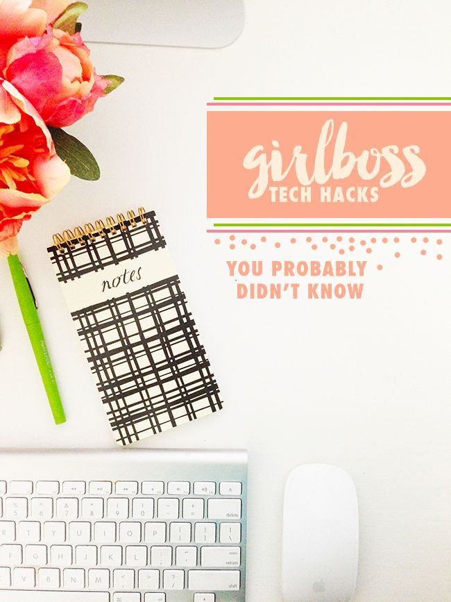 Venus Trapped in Mars // Lifestyle + Sports Blog // Dallas: Girlboss Tech Hacks You Might Not Know