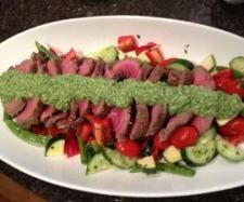Beef Fillet, Pistachio Mayonnaise, Crisp Summer Salad | Official Thermomix Forum & Recipe Community