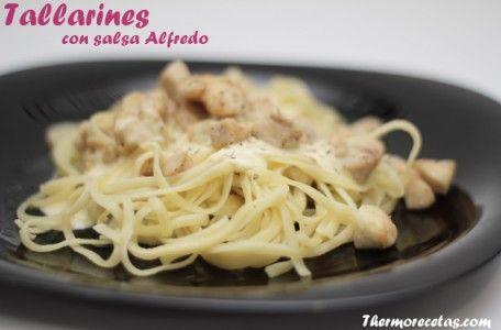 Tallarines Alfredo