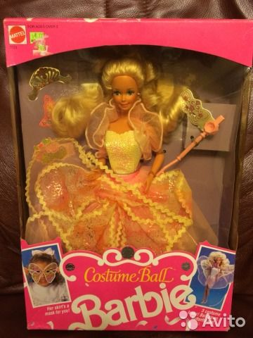 Ретро кукла барби barbie costume ball купить в Москве на Avito — Объявления на сайте Avito