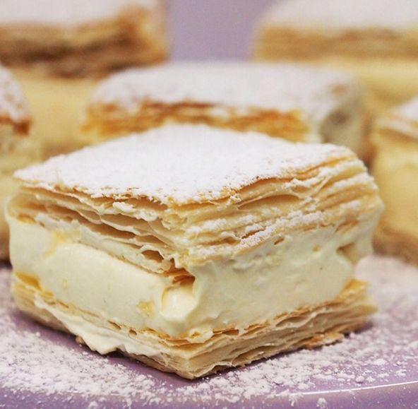 Vanilla Slice | 23 Australian Foods That Americans Will Never Get To Enjoy