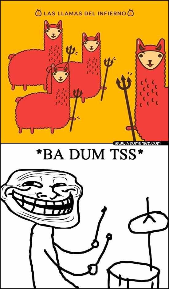★★★★★ Imágenes de memes chistosos: Las llamas del infierno I➨…