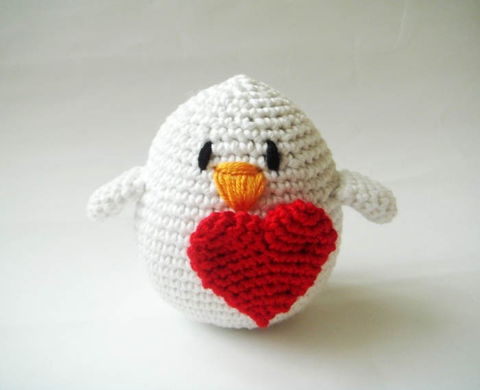 Mothers day special gift plush crochet Bird Mother's Day Crochet Gift