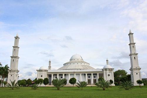 masjid agung bengkulu, indonesia