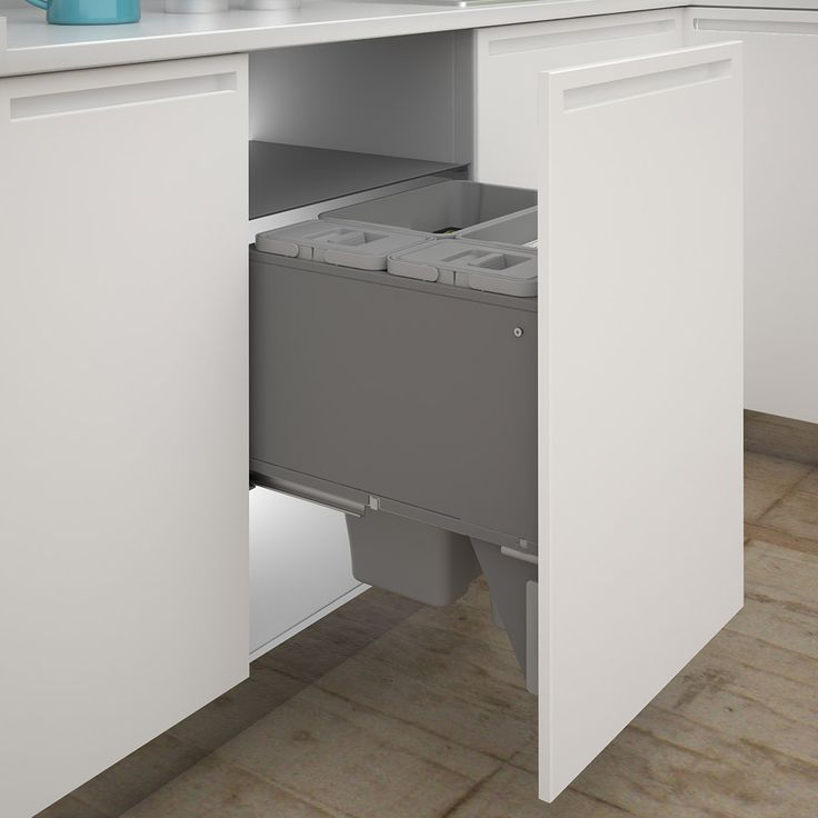 13 Best Kitchen Waste Bins Images On Pinterest Alluring Kitchen Waste Bins Inspiration Design