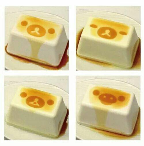 Rilakkuma tofu stamp- kawaii nano desu!