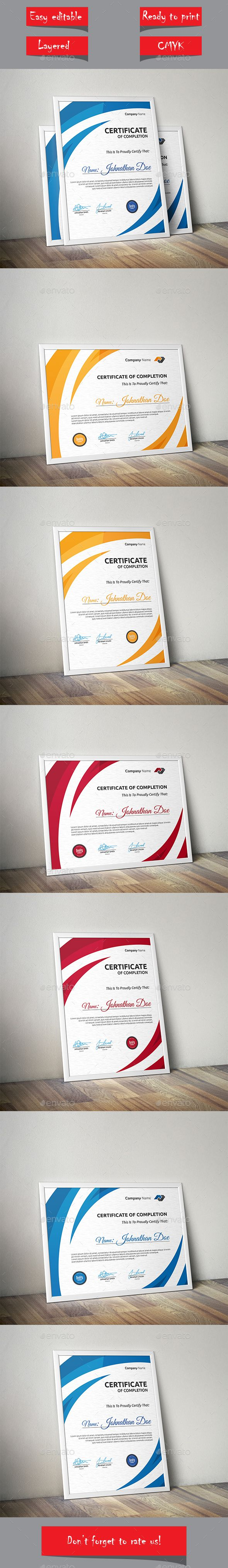 Certificate Template Vector EPS. Download here: http://graphicriver.net/item/certificate/14139081?ref=ksioks