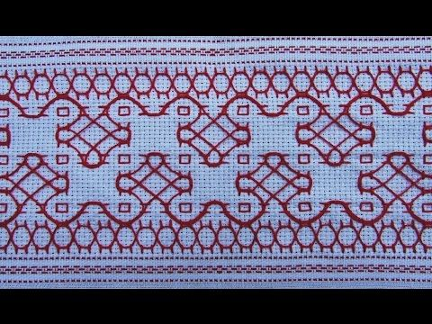 Indian Kasuthi embroidery-Motiv2- - YouTube