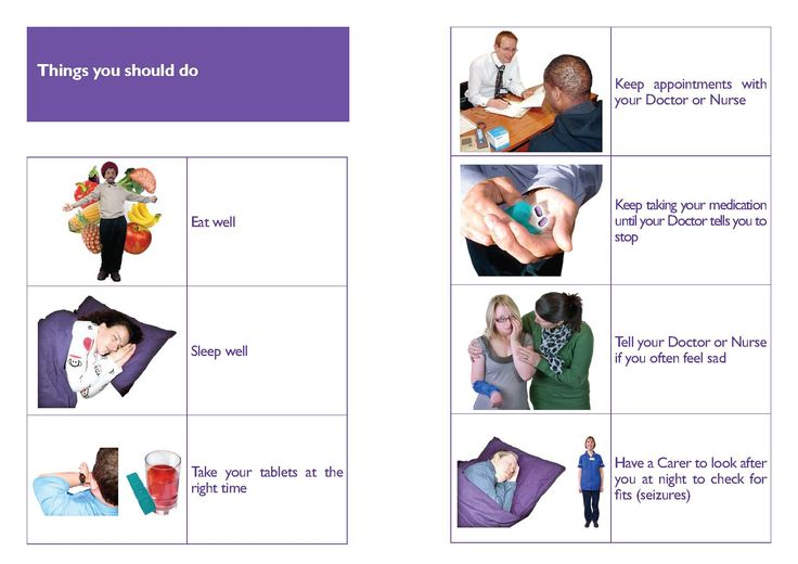 Our easy read epilepsy risk leaflets for people with learning disabilities.