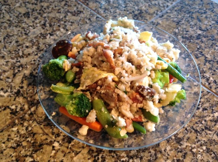 Asian Cauliflower Fried Rice | R&W Paleo Recipes | Pinterest
