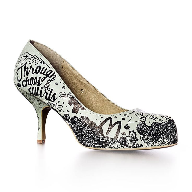 personalised hand illustrated bridal shoes by sam pierpoint | notonthehighstreet.com #illustration #drawing #illustrator