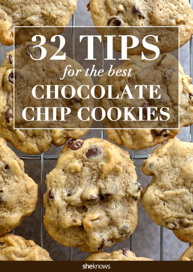 Make the best chocolate chip cookies ever with these tips