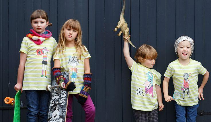 'Just Be Me' Organic Cotton Unisex Kids Fair Wear T-shirt | Sas and Yosh