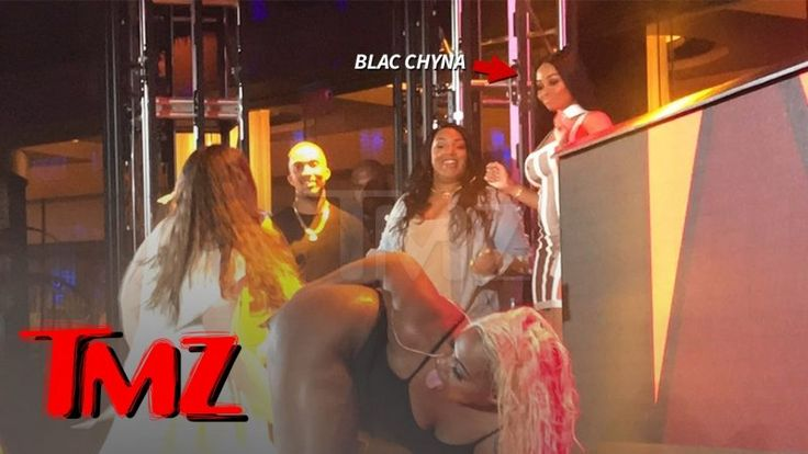 Blac Chyna Judges Twerking Contest in Atlantic City