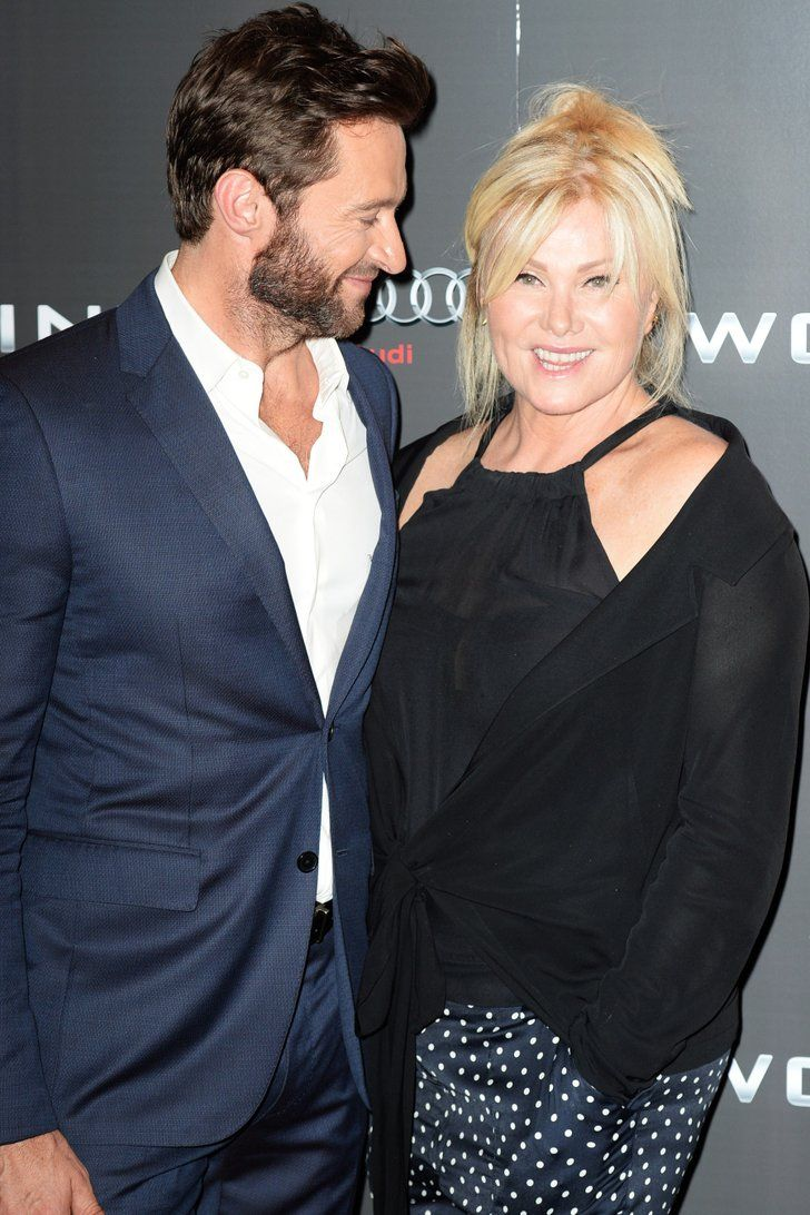 The Way Hugh Jackman Looks At His Wife Will Make Your Heart Do A Back Flip Hugh Jackman Wife Hugh Jackman Celebrity Couples